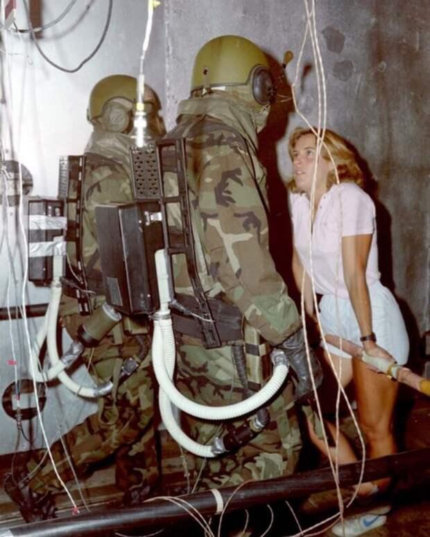 Экспериментальная экипировка для армии США, которую разрабатывали в1970—1990 годах