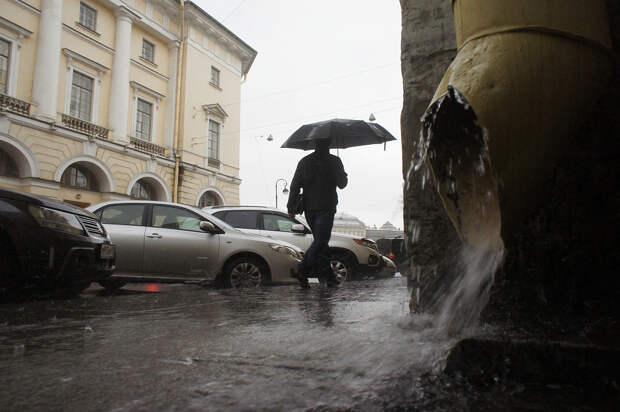 Синоптики прогнозируют в Петербурге ливни, грозы, град и сильный ветер