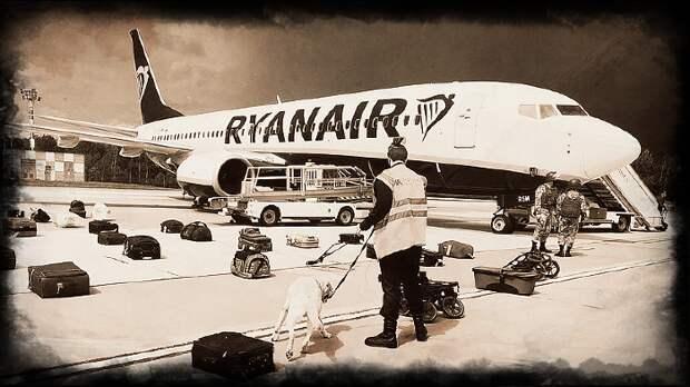 Воображаемый диалог о посадке борта Ryanair