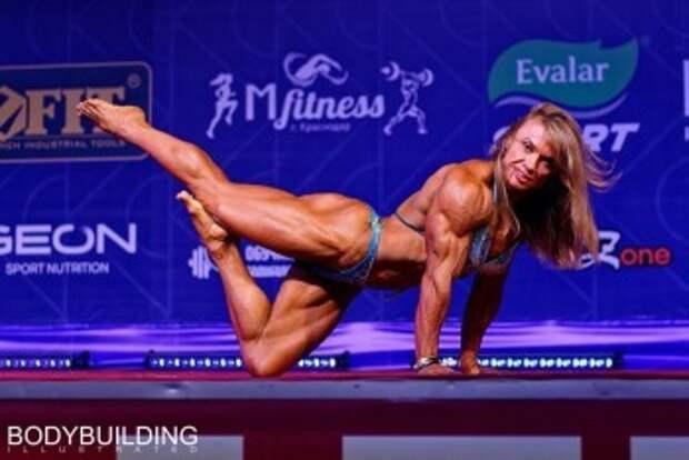 Спортсменка из Калужской области выиграла Кубок России по бодибилдингу