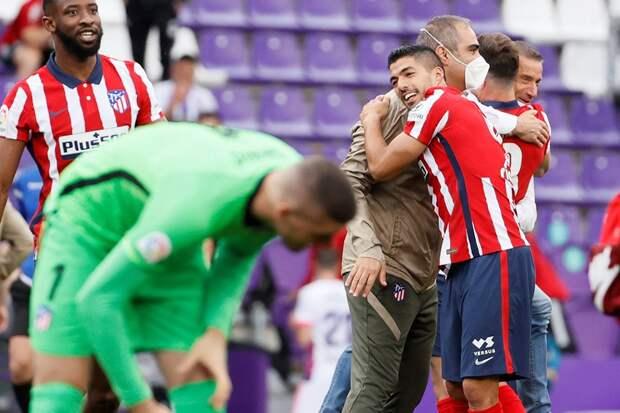 """Гол Суареса принес """"Атлетико"""" титул чемпиона Испании"""