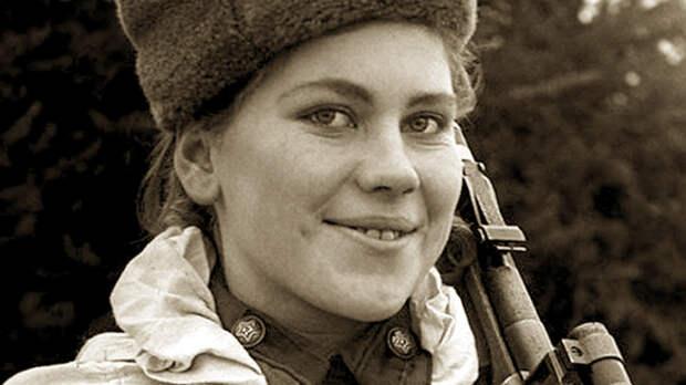Снайпер Роза Шанина. Звезда западных таблоидов и невидимый ужас Восточной Пруссии