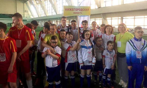 Нижегородская сборная поюнифайд-футболу участвует вовсероссийской спартакиаде специальной Олимпиады