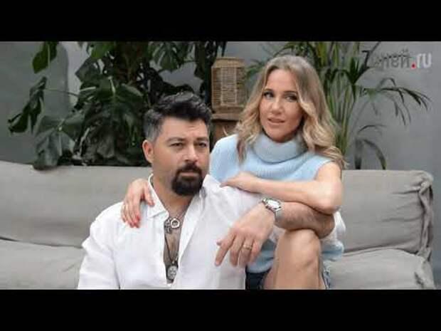 Алексей Чумаков и Юлия Ковальчук за кадром