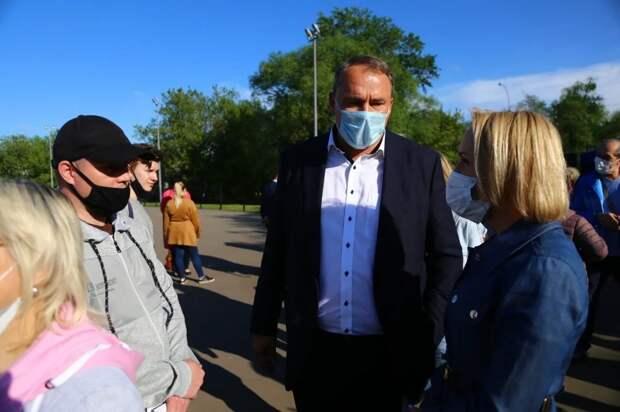 Петр Толстой обратится к мэру Москвы с просьбой согласовать строительство нового ФОКа в Выхино-Жулебино