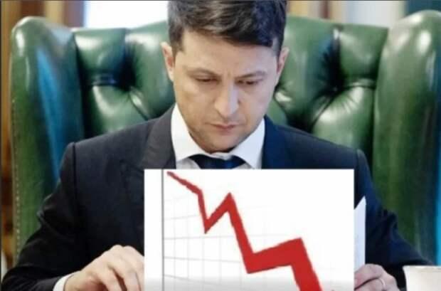 Более половины украинцев против второго срока Зеленского