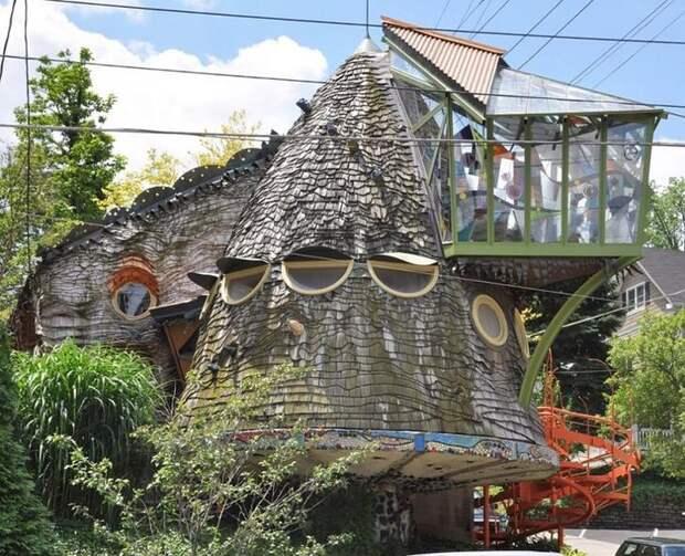 Странные и необычные дома