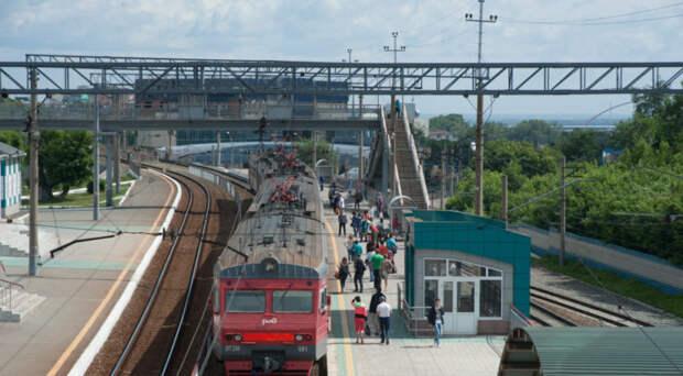 Одну из станций «городской электрички» запустят в Новосибирске до конца года
