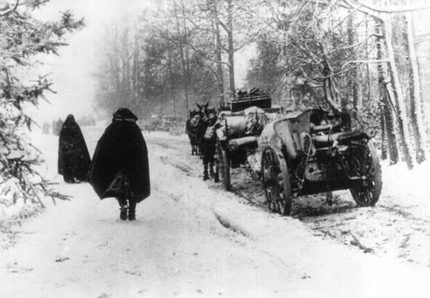 На рубеже ноября и декабря немецкое наступление на Москву провалилось