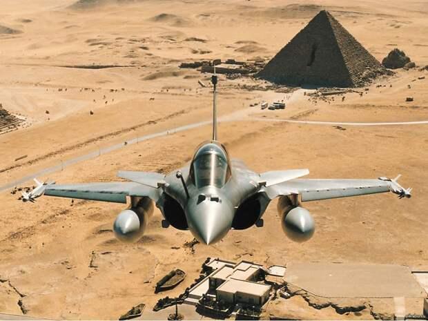 Французский «Рафаль» сбил в египетском небе Су-35