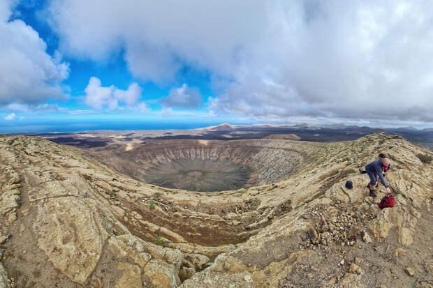 Треккинг по вулканам острова Лансароте