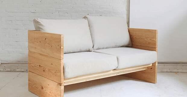 То, как можно сделать диван своими руками не укладывается в голове! 20 классных идей