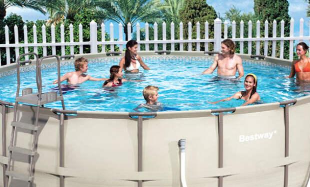 Делаем свой бассейн за 300 рублей в месяц