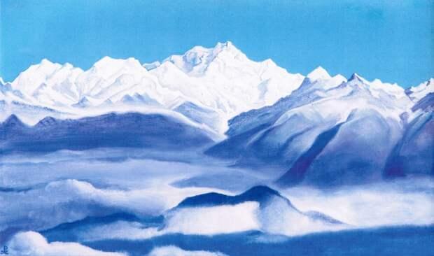 Николай Константинович Рерих. Гималаи (Голубые горы)