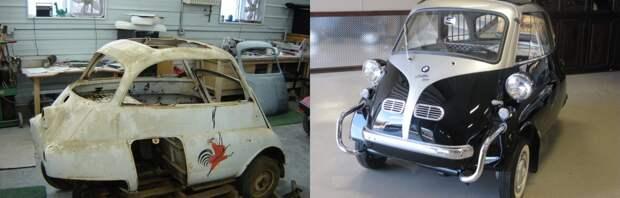 Пробка на колёсах: мастер превратил развалившуюся малолитражку в звезду авто-шоу