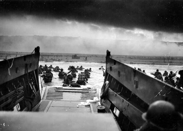 Исторические фотографии Нормандской операции