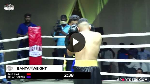 Club Fights Rewind - Bangaram Sai Kumar Vs Rohan Madake