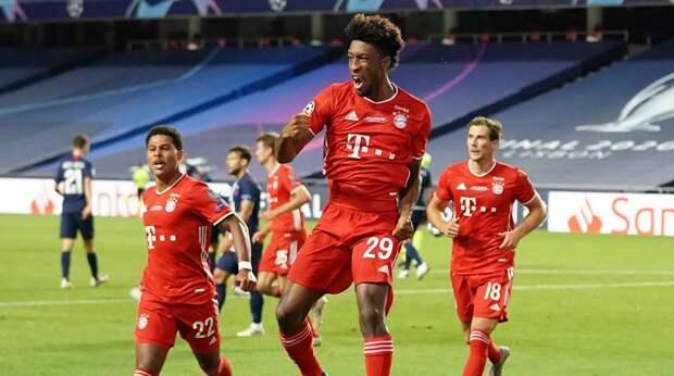 «Бавария» обыграла «ПСЖ» и получила кубок Лиги чемпионов