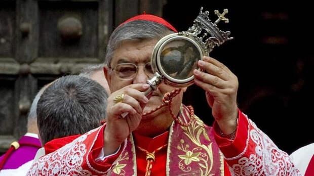 Кровь святого Януария  - знамение грядущей катастрофы