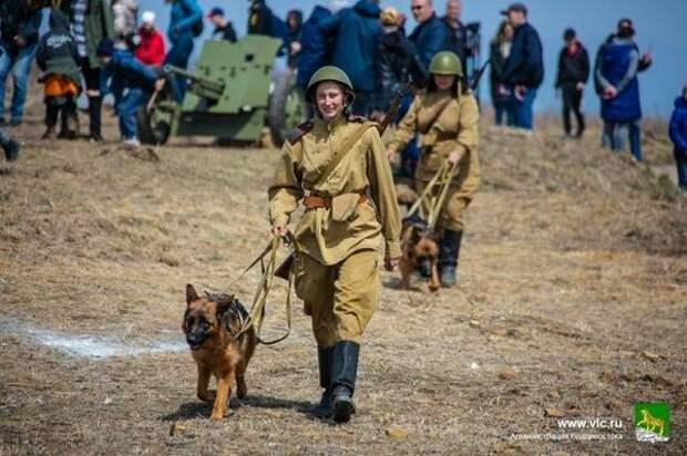 Во Владивостоке воспроизвели важную битву времен Великой Отечественной