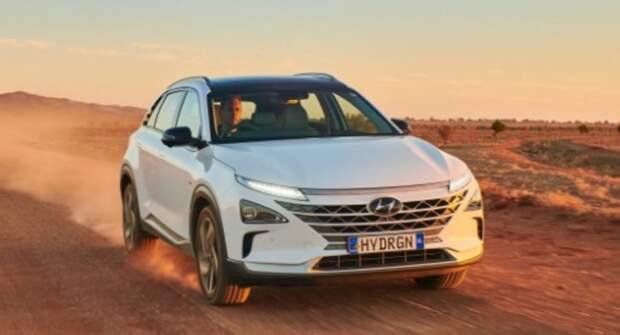Водородная Hyundai Nexo установила новый рекорд по дальности хода