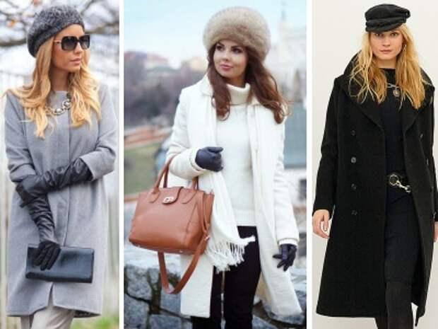 какая шапка носятся с пальто