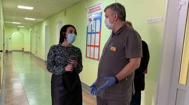 ВОренбурге отделение областной детской больницы перевели вЦДХ