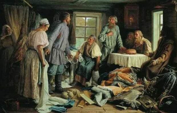 Внутрисемейное насилие на Руси: За что били крестьянских женщин, и как они могли защититься