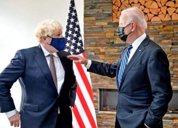 США и Британия приняли новую модель мироустройства