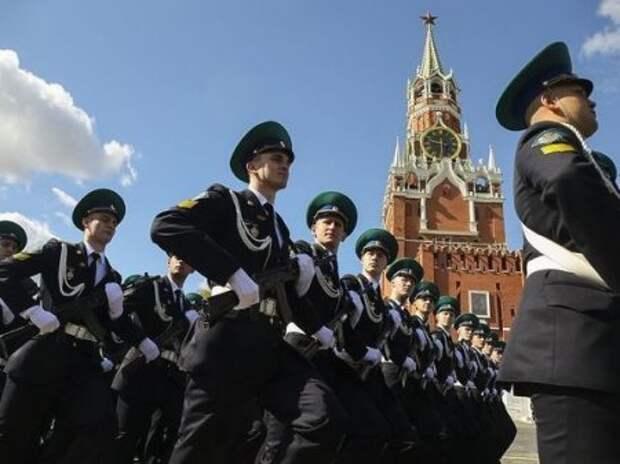 Парад в Москве: погода не смогла помешать