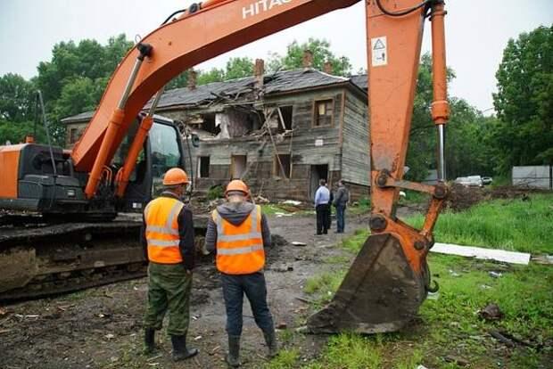 Точку в вопросе строительства многоэтажки у хабаровского парка Динамо поставил застройщик