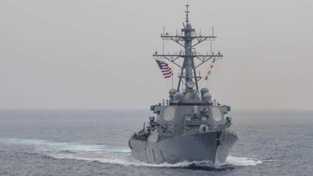 Боевые корабли США могут попасть в ловушку ВМФ России