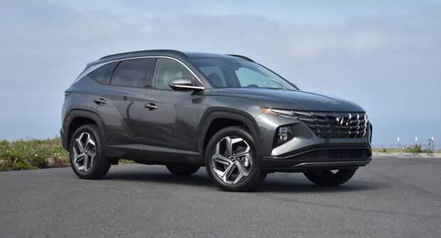 Первый взгляд на обновлённый Hyundai Tucson 2022