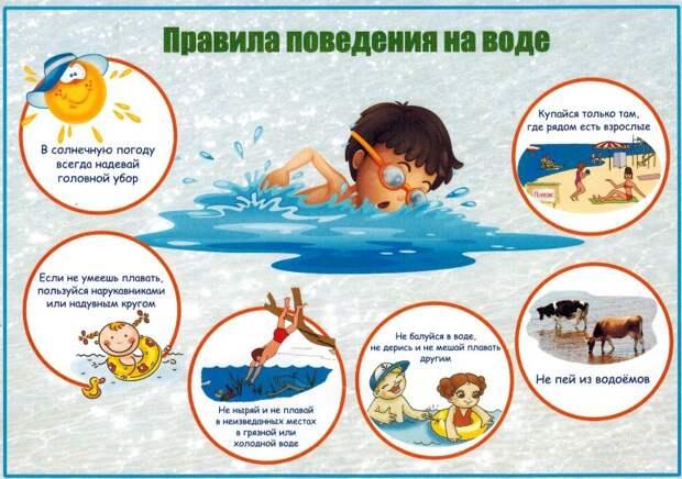 Спасатели напомнили о правилах безопасности на воде