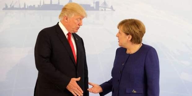 Берлин хочет ответить США, если санкции к«Северному потоку— 2» расширят