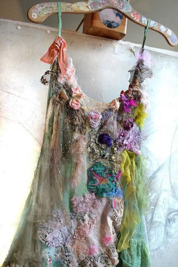 Встречает как-то вязальщица вышивальщицу : бохо шик для смелых