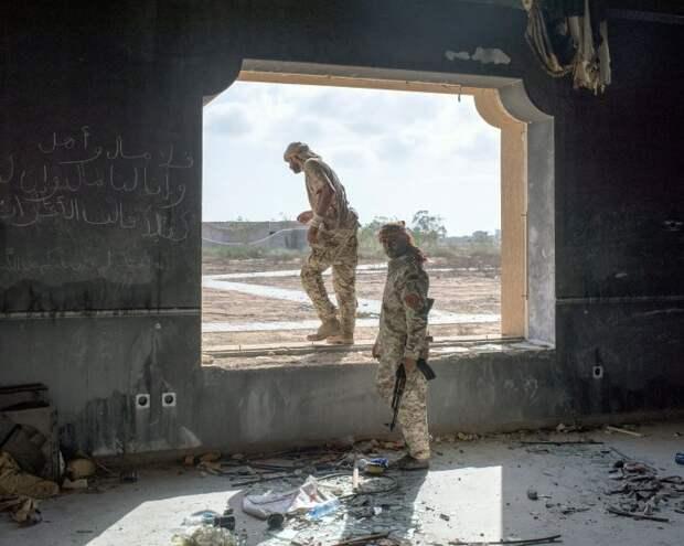 Ливийские бойцы
