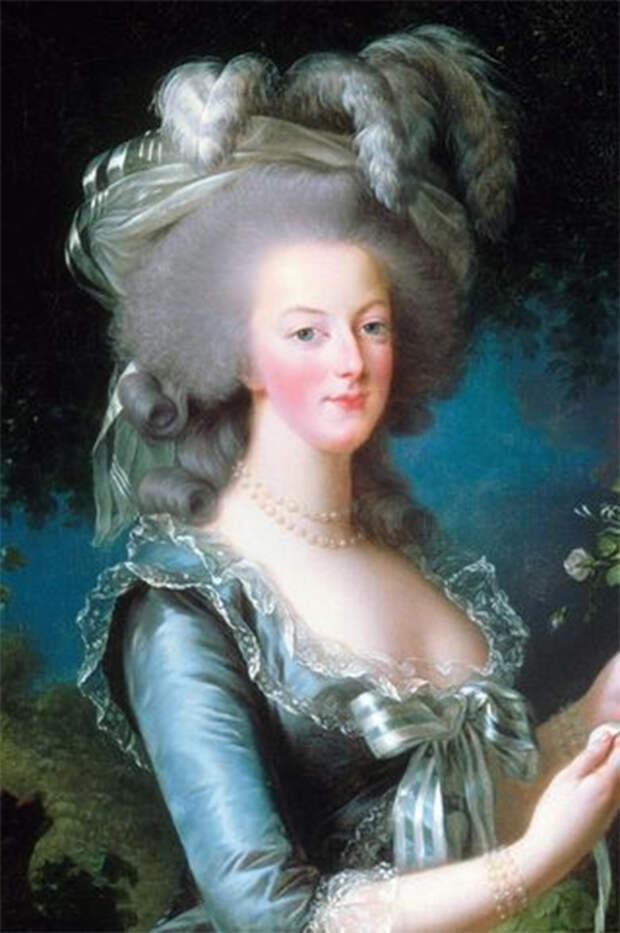 Мария-Антуанетта, портрет кисти Мари-Элизабет-Луизы Виже-Лебрен