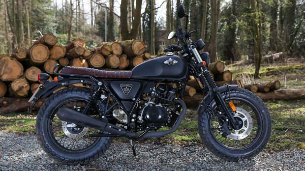WK Bikes разработала новый ретро-мотоцикл Scrambler 50 для новичков