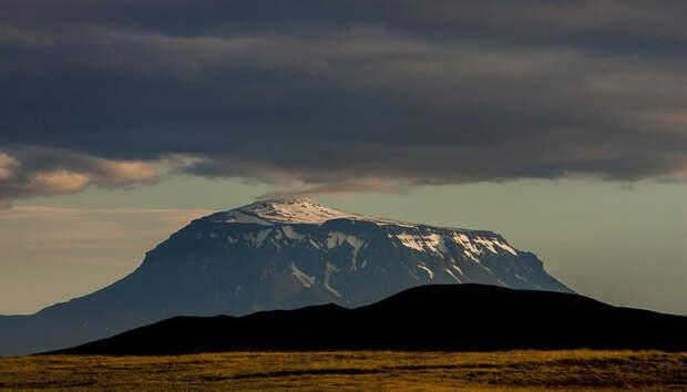 Опасность, связанная с исландским вулканом Бардарбунга
