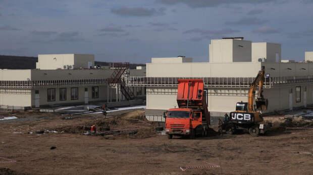 Инфекционную больницу вРостове строят, несмотря насуд