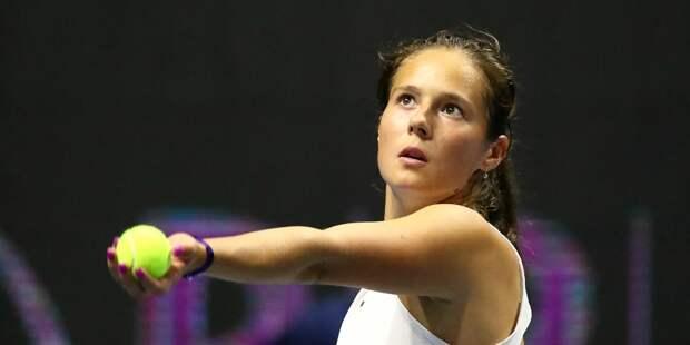 Касаткина прошла во второй круг теннисного турнира