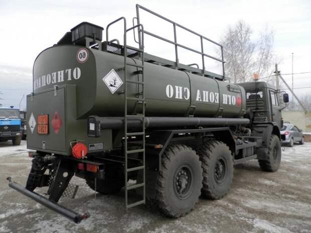 КамАЗ-53501 – универсальный большегрузный автомобиль для армии и не только