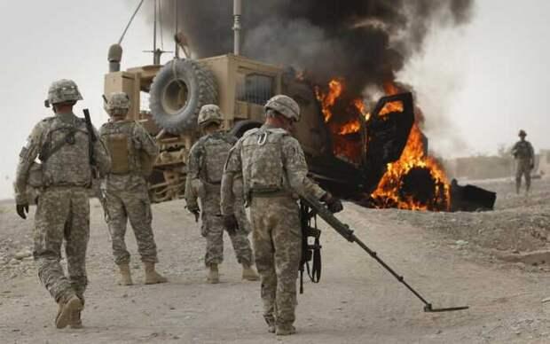 Опубликовано видео удара по авиабазе США в Афганистане