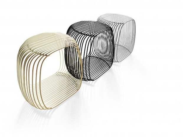 Металлические - легкие и неподъемные Фабрика идей, дизайнеры, идеи, интересное, необычное, табуреты