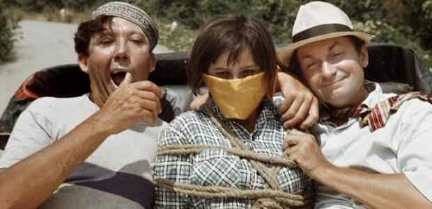 «Бамбарбия! Киргуду!».  Как снимали комедию Гайдая «Кавказская пленница»