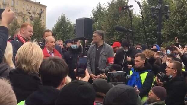 В МВД насчитали не более 400 участников митинга КПРФ в Москве