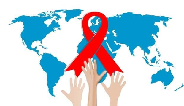 Красная ленточка — главный символ Международного дня памяти жертв СПИДа