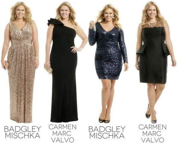 Вечерние платья для полных на любой вкус!