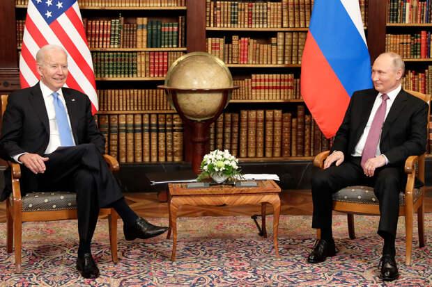 Путина устроили объяснения Байдена по резким высказываниям в его адрес